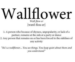 quotes and wallflower image