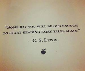 quote and fairytale image