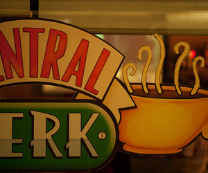 central perk, friends, and coffee image