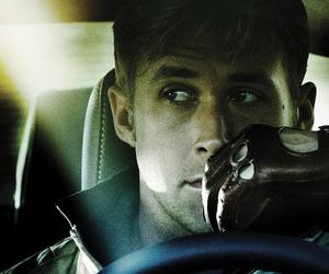 ryan gosling, drive, and movie image