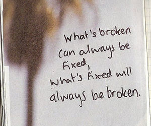 quote, broken, and fixed image