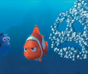 nemo, disney, and dory image