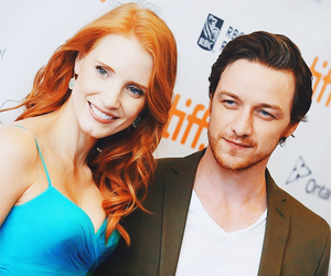 james mcavoy, eleanor rigby, and jessica chastain image