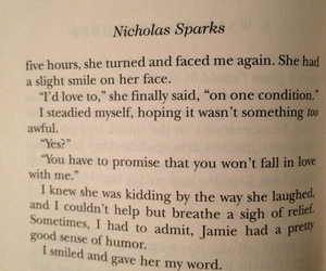 A Walk to Remember, book, and nicholas sparks image