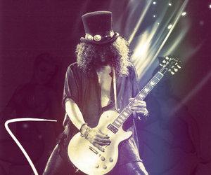 guitar, Guns N Roses, and music image