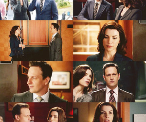 couple, lawyer, and the good wife image