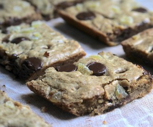 blondies, chocolate, and ginger image