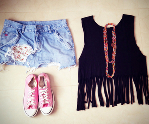 clothing, outfit, and converse image