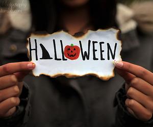 Halloween, pumpkin, and fall image