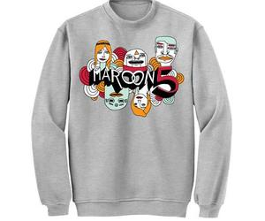 maroon 5, overexposed, and sweater image