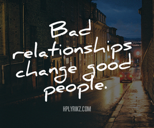 Relationship, change, and quote image