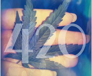 420, cure, and ganja image