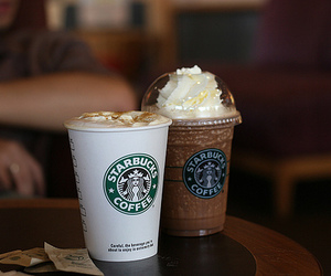 coffee, food, and frappuccino image