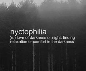 Darkness, fog, and relax image