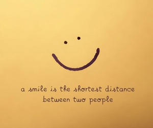 smile, quotes, and distance image