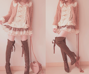 beautiful, clothes, and sweet image