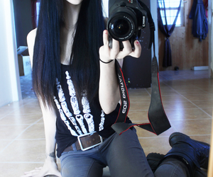 grunge, pale, and goth image