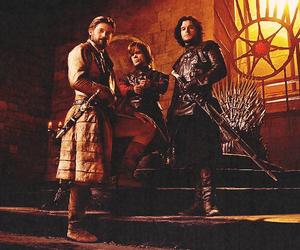 jon snow, jaime lannister, and tyrion lannister image