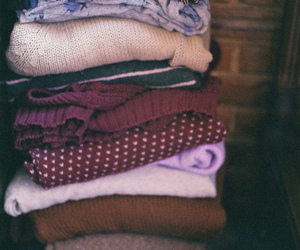 cardigans, clothes, and knit image