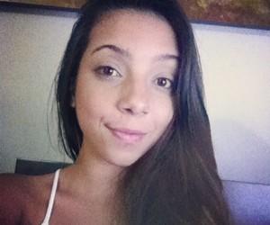 girl, beautiful, and iphone image