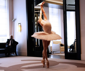 ballet, karl, and chanel image