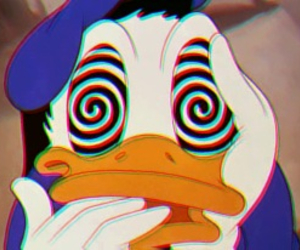 disney, donald duck, and sweet image