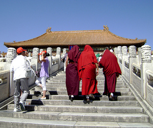 architecture, steps, and the forbidden city image