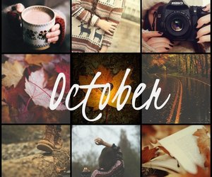 october, autumn, and cold image
