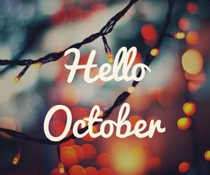 october, autumn, and birthdays image