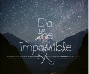 impossible and stars image
