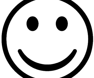 happy and transparent image