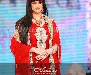 bridal wear, pakistani actresses, and fashion image