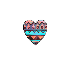 heart, overlay, and tribal image