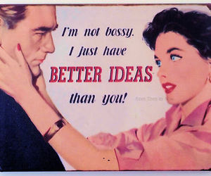 quote, bossy, and ideas image