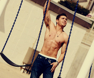 abs, Hot, and actor image
