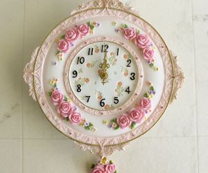 clock and cute image