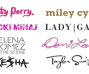 celebrities, Lady gaga, and miley cyrus image