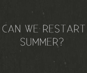 summer, restart, and quote image