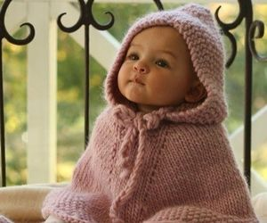 adorable, baby, and knit image