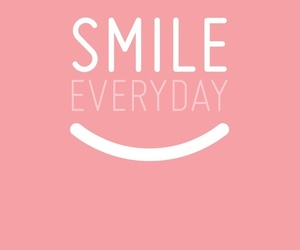 smile, everyday, and pink image