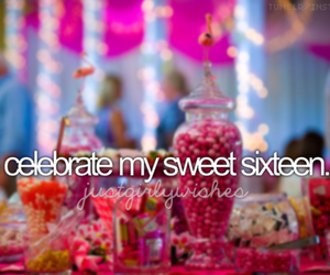 birthday, sweet sixteen, and party image