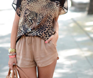 bag, girl, and beige image