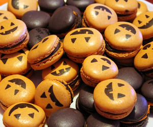 Cookies and happy halloween image