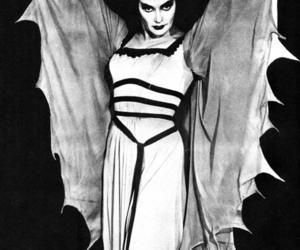 Lily Munster and happy halloween image