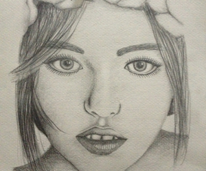 draw, person, and face image