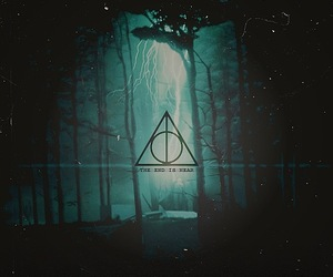 harry potter, deathly hallows, and harrypotter image