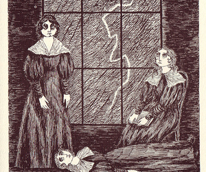!!!!, emily bronte, and grim image