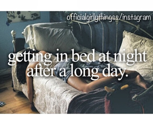 bed, girl, and life image