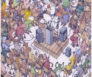 dance gavin dance, pop punk, and posthardcore image