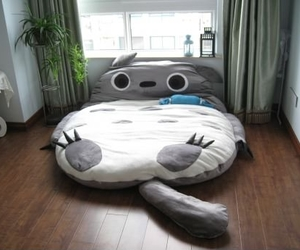 bed, i want it, and kawaii image